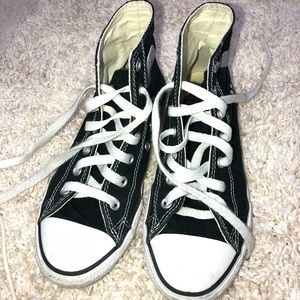 Converse customized girl sneakers size 3